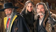 First Look at Jackson, Russell & Leigh in Tarantino's THE HATEFUL EIGHT