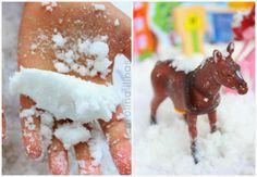 Cómo hacer Nieve Mágica | #Artividades