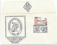 Peru Commemorative Event Cover-125th Anniversary Archivo Nacional- Scott 823