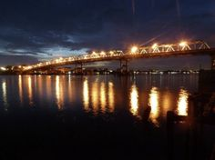 Sunset at Kapuas Bridge, Pontianak