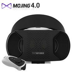 c7fc1607c71 Baofeng Mojing IV 4 VR Headset 3D Glasses Google cardboard For Smartphone Virtual  Reality 3D Private Theater + Bluetooth Gamepad