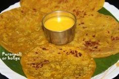 #Puranpoli or Holige or obbattu or bobbattu recipe Recipe by Charus Cuisine on Plattershare