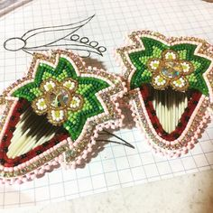 A pair I did a couple weeks ago ❤️🍓 I can't wait for you to get them! Beadwork, Beading, Couple Weeks, Beaded Earrings, Quilling, Strawberries, Jewelry Ideas, Blueberry, Dancing