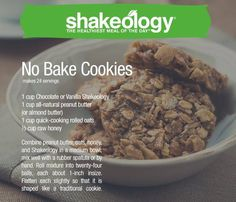 Did you know you can make more than just shakes with Shakeology®? From pies to … Did you know you can make more than just shakes with Shakeology®? From pies to bars to fudge pops, check out all the yummy treats you can make with Shakeology. Brownie Desserts, Oreo Dessert, Mini Desserts, 21 Day Fix Desserts, Coconut Dessert, Dessert Recipes, Plated Desserts, Dessert Ideas, Vanilla Shakeology