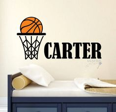 Check out this item in my Etsy shop https://www.etsy.com/listing/266952509/basketball-wall-decal-with-boy-or-girl