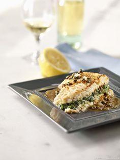 La célèbre raie au beurre, revue par Pierre-Olivier Lenormand. Le chef amoureuxde la cuisine de bistrot la métisse avec un sandwich !