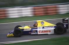 Thierry Boutsen  Williams - Renault 1990