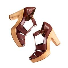 The perfect chunky heel for summer, both sexy and fun.