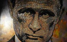 """5000 proiettili per ritrarre il volto di Putin, """"la faccia della guerra""""  #putin #russia #proiettili #guerra"""