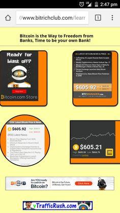 #Bitcoin #Price #News #BitRichClub #BitLife4Life #VTrafficRush #bitclub  CoinDesk BTCMANAGER Cryptocoins News Bitcoin.com Store www.bitrichclub.com/learn