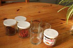 nutella jar storage