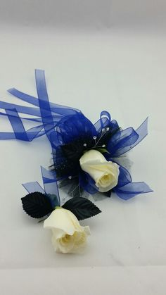 Matching Corsage and bout for Prom
