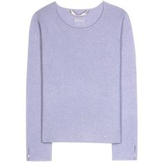 81hours Candy Cashmere Sweater (365 CAD) ❤ liked on Polyvore featuring tops, sweaters, jumper, purple, cashmere jumper, wool cashmere sweater, purple top, purple sweater and purple jumper