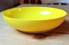 1960's Bright Yellow Melamine Melaware Fruit Bowl / Bowl