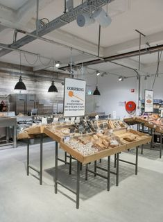 Supermarket Design | Bakery Areas | Retail Design | Shop Interiors |Marqt…