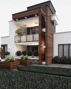 House Arch Design, Home Building Design, Bungalow House Design, Villa Design, Modern Bungalow, Duplex House, Best Modern House Design, Modern Exterior House Designs, Exterior Design