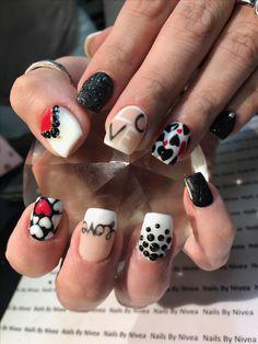 Gel polish nail designs by nailsbynivea