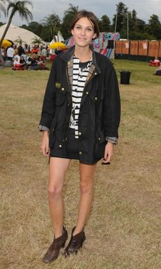 Alexa Chung At The V Festival, August 2008