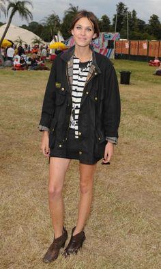 Alexa Chung At The V Festival, August 2008