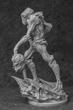 Alien Pilot - The Art of Dominic Qwek