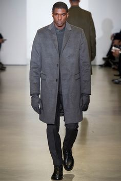Calvin Klein Menswear FW 2014/15 - Milan Fashion Week Models: Ronald Epps and a new face
