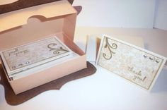 great gift idea that uses top note die and scallop envelope