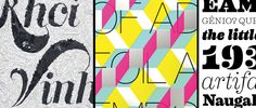 Featured winners of Typography 32