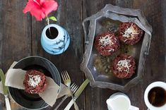 carrot, beetroot & coconut muffins