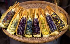 Myanmar corn by john spies on 500px Ancient colourful varieties in Taunggyi market, Shan State, Thailand