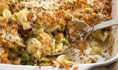 Receta Cacerola de Atún con pasta y verduras