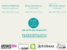 Walk with the artist   Bergamo 2014   Program