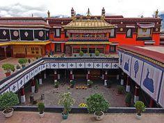 Jokhang Temple (639 AD) - Tibet