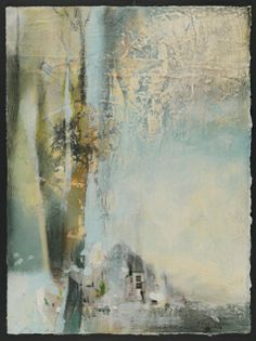 "Joan Fullerton Paintings: Contemporary Abstract Painting ""Transcending"" by Intuitive Artist Joan Fullerton"