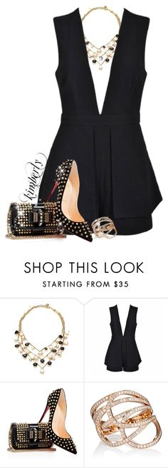 """""""Repossi Tangle Rings"""" by cavell ❤ liked on Polyvore featuring Kate Spade, Ally Fashion and Repossi"""