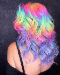 Beautiful Hair Color, Cool Hair Color, Pulp Riot Hair, Neon Hair, Hair Dye Colors, Bright Hair, Creative Hairstyles, Aesthetic Hair, Rainbow Hair