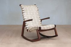 Leather Abuelo Rocking Chair - Natural