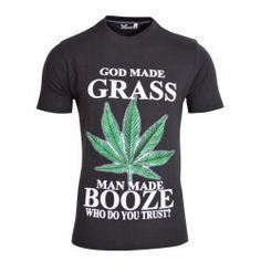 Avenster Grass Print T-Shirt-₹349.00