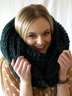 This item is unavailable Cowl Scarf, Knit Cowl, Cowl Neck, Cute Scarfs, Turban Headbands, Circle Scarf, Pullover, Scarf Styles, Arm Warmers