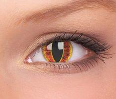 Eye of Sauron Contact Lenses