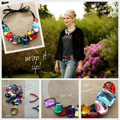 DIY Wrapped Bracelet diy crafts craft ideas easy crafts diy ideas crafty easy diy diy jewelry diy bracelet craft bracelet jewelry diy