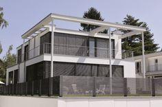 Linea aluminium fence