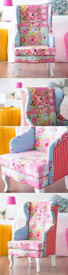 Deluxe Patchwork Boho Armchair - Gypsy Flair
