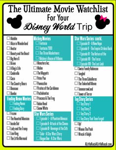 57 Movies to Watch Before Your Disney World Trip 57 movies to watch with your kids before your Disney World trip! The post 57 Movies to Watch Before Your Disney World Trip appeared first on Paris Disneyland Pictures. Viaje A Disney World, Disney World Trip, Netflix Movies To Watch, Disney Movies To Watch, Best Disney Movies, Disney World Vacation Planning, Disney Vacations, Disney Planning, Orlando Vacation