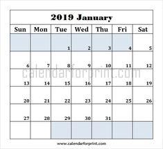 calendar january 2019 word printable blank january 2019 calendar