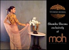 Introducing Bhumika Sharma elegant collection #exclusively at moh #Ahmedabad