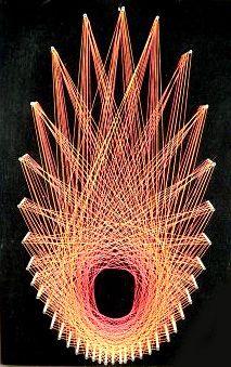 1000+ images about String art on Pinterest   String Art, String ...