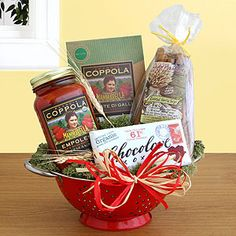 Romantic Dinner for Two Gift Basket from World Market - such a cute idea for a couple - love making dinner with my hubby
