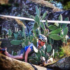 Cactus MTB Crash!