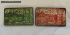 Pair of Neb Ka Egyptian cigarette tins circa WW1