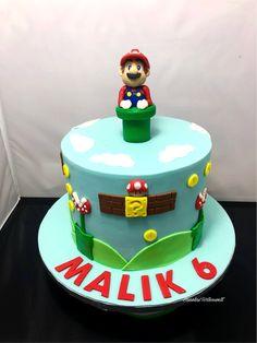 Super Mario Torte Cake Fondant